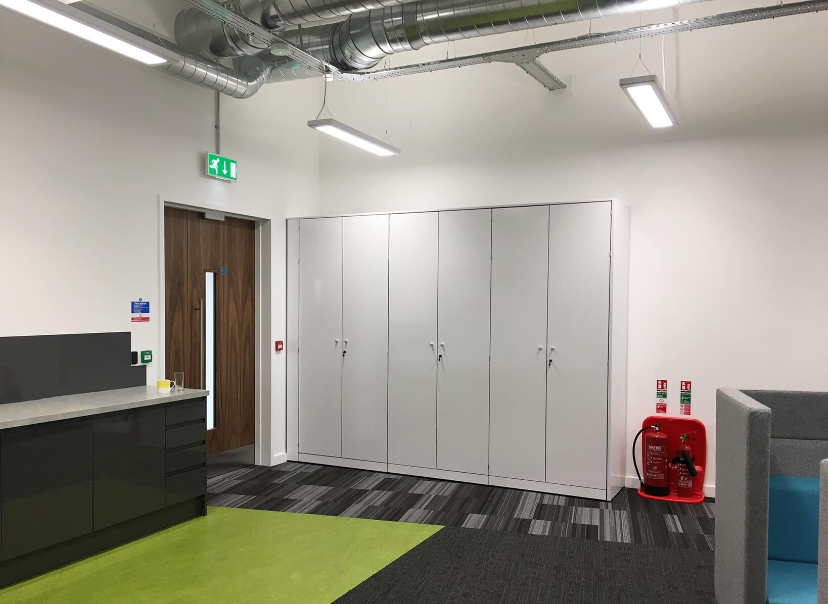 Abox - Saddleback office storage