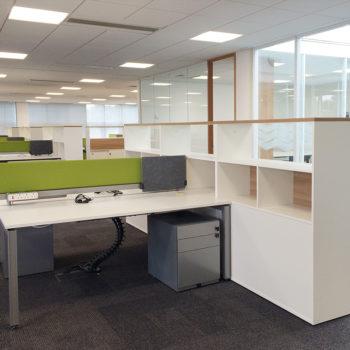 Storage desk system