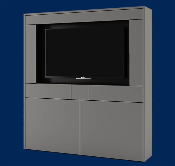 media wall storage system