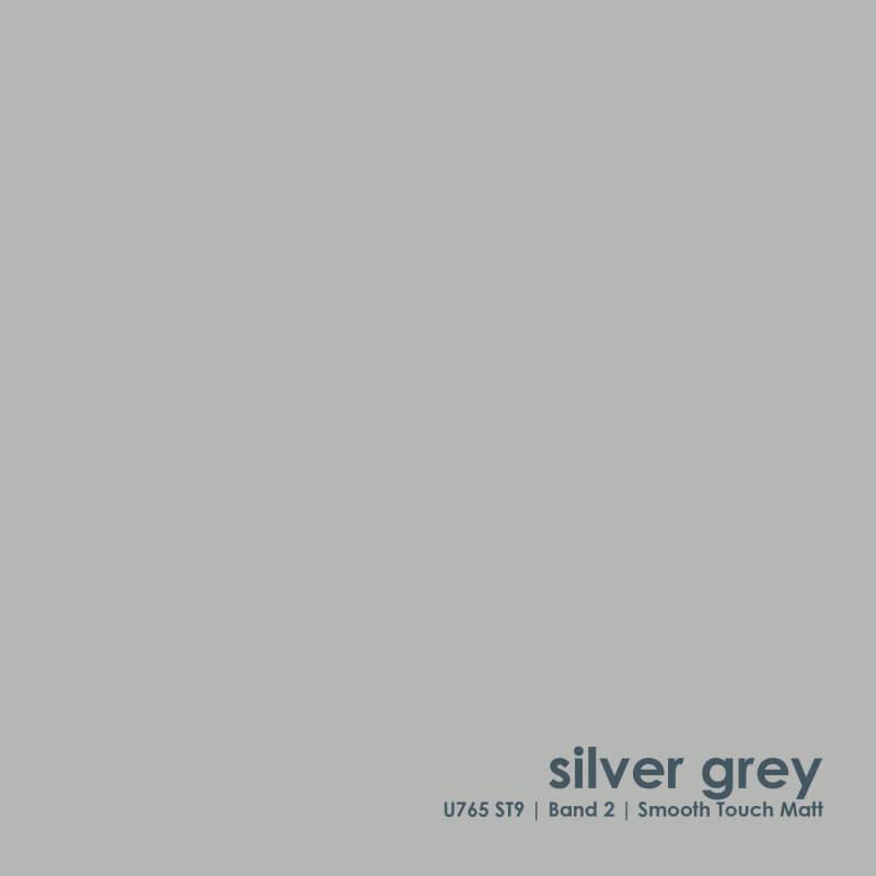 SILVER GREY - STORAGEWALL FINISH