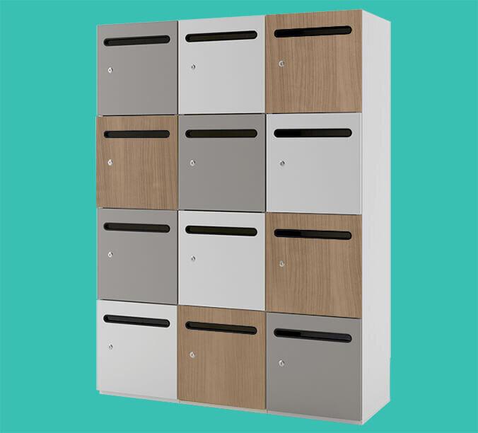 storage wall locker