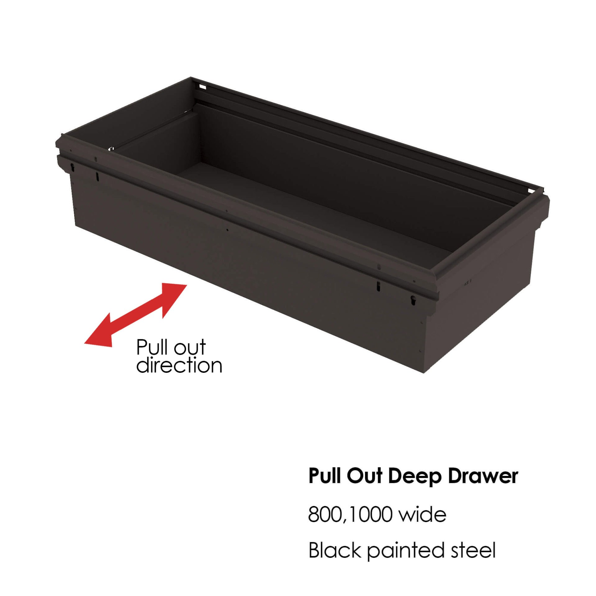 storagewall deep drawer